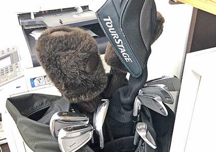 ゴルフを始めました!